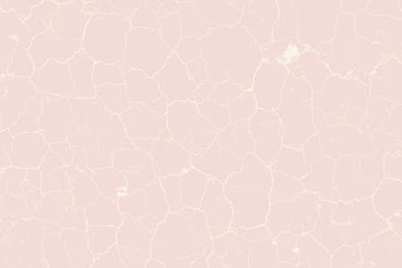 cracked earth: Dry Cracked Earth Pink Color Vector Texture For Your Design. EPS10