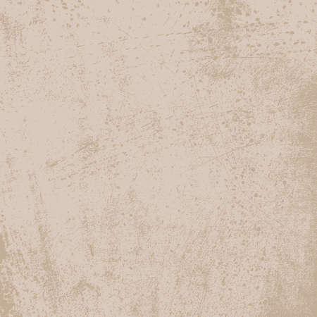 distressed: Light Distressed Beige  Background. EPS10 vector texture. Illustration