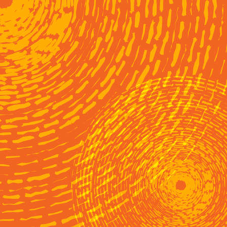 Abstract Concentric wave like Rings Distress texture for your design. Hand Made. EPS10 vector.