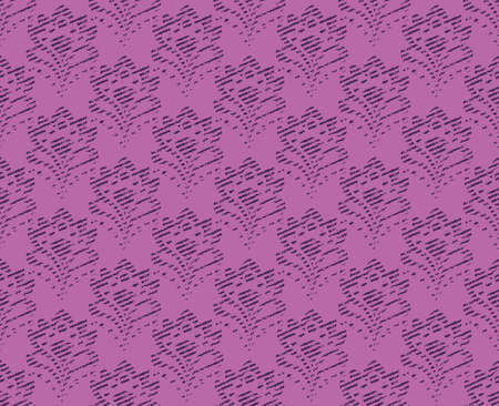 tapestry: Seamless background - abstract floral tapestry texture. Lilac color.  vector. Illustration