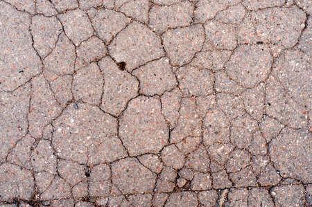 asphalt texture: Cracked Distress Asphalt Texture For Your Design. Stock Photo