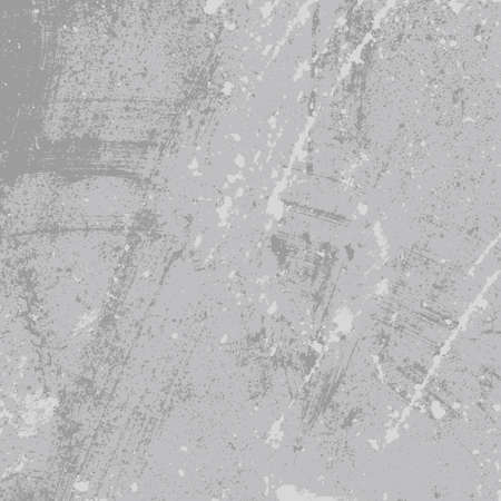 leaden: Distressed Overlay Texture. Empty Grunge Design Element. Retro Dirty Background. Gray Cement Driped Backdrop. EPS10 vector.