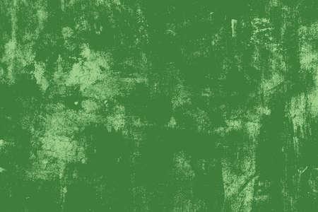 messy: Distress Green Messy Grunge Texture. Empty Design Element.  EPS10 vector. Illustration