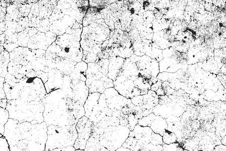 Distress Cracked Texture. Crackle Achtergrond. Crack Texture. Leeg Design Element. EPS10 vector. Stock Illustratie