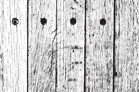 wooden planks: Distress Wooden Planks Overlay Grunge Texture Illustration