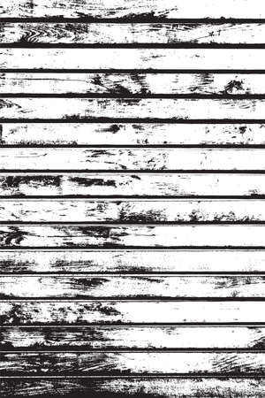 nakładki: Wooden Planks Overlay Distressed Texture For Your Design. Empty Template.