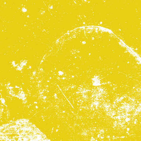Distressed Grunge Yellow color texture. Empty damaged and scratchy painted background. EPS10 vector.
