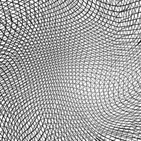 Wave Stripe Background - simple texture for your design. EPS10 vector. Illusztráció