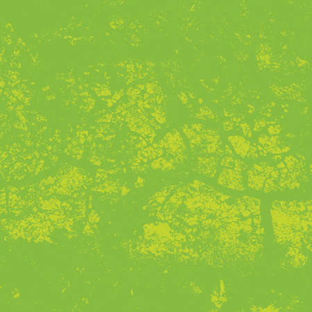 Distress green background. Grunge dirty texture. Damaged painted color painted wall. Creative peeled design template. EPS10 vector. Stock Photo
