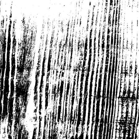 Wooden dry plank distressed overlay texture with knot. Grunge old wood black cover template. Weathered rural grainy timber backdrop. Aged dried board creative element. EPS10 vector.