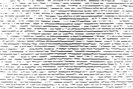 Textura de vector de superposición de grunge rayado para su diseño. Fondo de fibra de madera angustiado vacío. Eps10 vector.