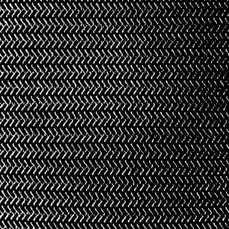 Distressed körnige Fadenauflage Textur. Schmutziger Hintergrund des Schmutzgewebes. Schmutzige raue leere Deckblattschablone. Ländlicher Lappenwandhintergrund. Verwittertes Designelement für die Alterung von Textilien. EPS10-Vektor.