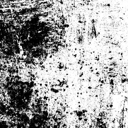 Grunge Used dirty background. Distress urban texture. Brushed black paint cover. Overlay aged grainy messy template. Renovate wall grimy backdrop. Empty aging design element. EPS10 vector.
