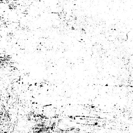Aged splatter crumb wall backdrop. Distressed spray grainy overlay texture. Grunge dust messy background. Dirty powder rough empty cover template. Weathered drips aging design element. EPS10 vector.