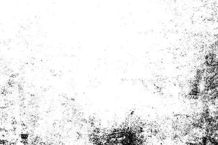 Grunge rough dirty background. Distress urban used texture. Brushed black paint cover. Overlay aged grainy messy template. Renovate wall scratched backdrop. Empty aging design element. EPS10 vector.