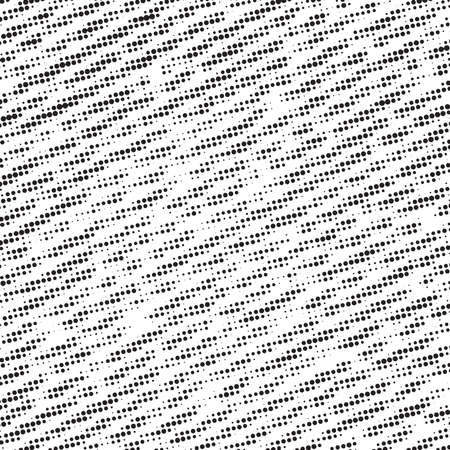 Artistic messy halftone banner background. Dirtty basis. Paint roller distress overlay texture. Grunge design element. EPS10 vector.