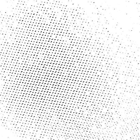 Halftone Distressed Overlay Texture for your design. Abstract Grunge pop art artistic template. EPS10 vector.