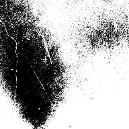 Grunge mess blot background. Distress dirty overlay background. Burnt trace cover design element. EPS10 vector.