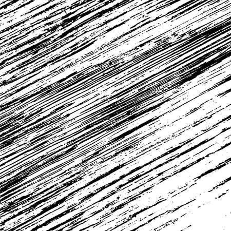 Textura de vector de superposición de grunge rayado para su diseño. Fondo de fibra angustiado vacío. EPS10.