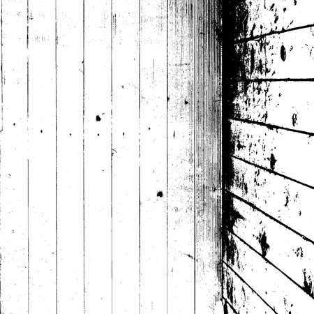 Dry Wooden Planks overlay background for your design. Grunge rural design template. EPS10 vector.