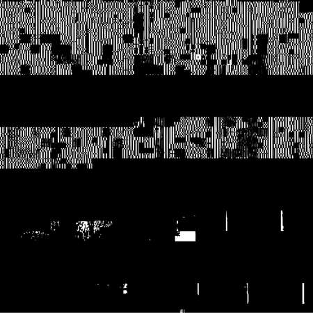 Glitch Grunge Overlay Texture. Distress pixelated digital error background. EPS10 vector. Illustration