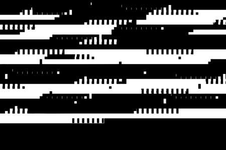 Abstract overlay glithc grunge texture. Distress design black and white texture. EPS10 vector.