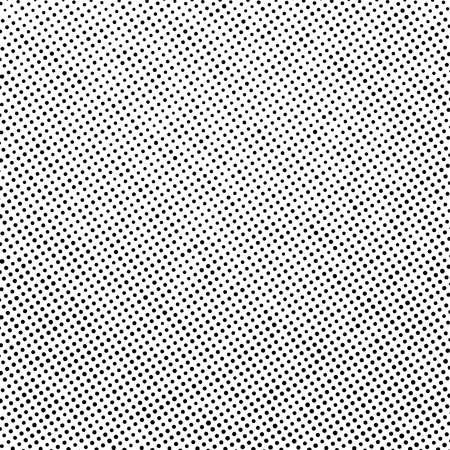 Distress grunge halftone overlay texture. Dirty noise aging design template. Pop art artistic element. EPS10 vector. Vektorové ilustrace