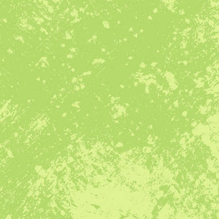 Distress green retro aged texture for your design. Empty vintage grunge color square background, EPS10 vector illustration. Vecteurs