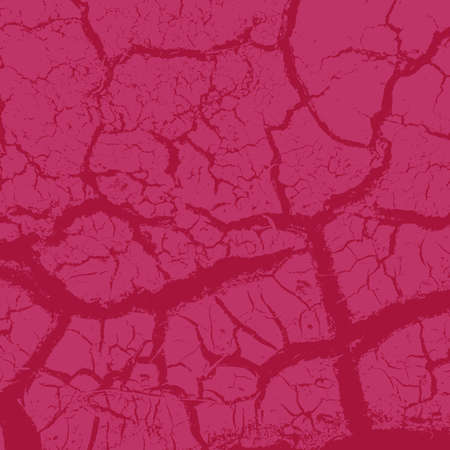 Grunge Red Square Texture For your Design. Empty expressive Distressed Background. EPs10 vector.
