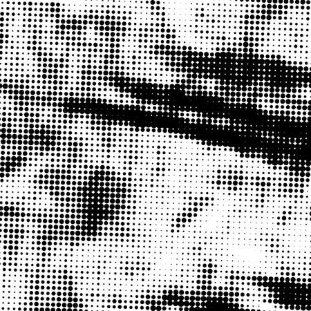 Halftone Distressed Overlay Texture for your design. Abstract Grunge pop art artistic template. EPS10 vector. Vektorové ilustrace