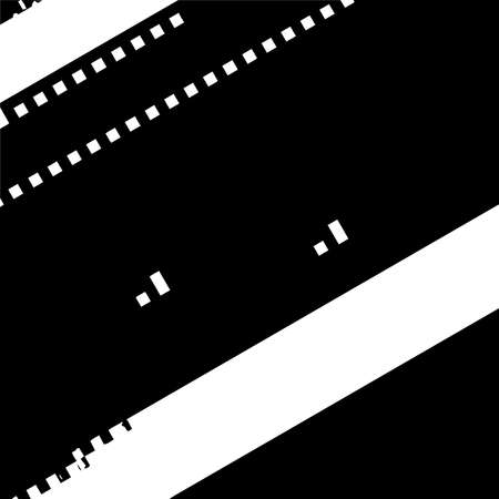 Distress pixelated digital error background. Glitch Grunge Overlay Black diagonal Texture. EPS10 vector