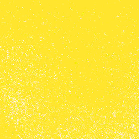 Distressed Color Texture with peeled paint and scratches. Empty grunge yellow color background. EPS10 vector