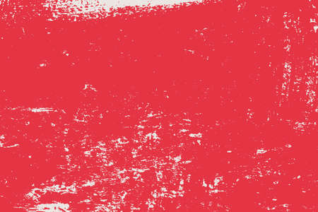 Grunge Red Rectangle Texture For your Design. Empty expressive Distressed Background. EPs10 vector. 일러스트