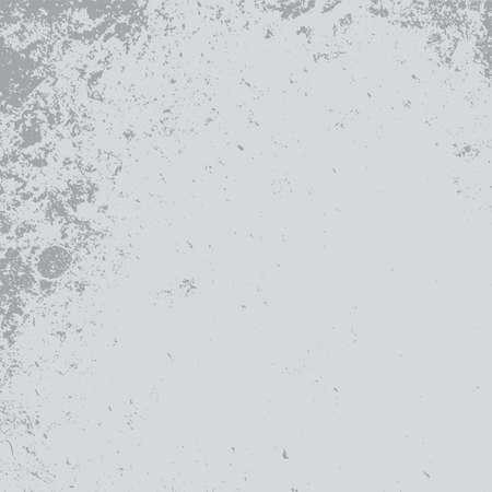 Distress Grey Grainy Texture. Beton grunge backdrop. Cement overlay background. Empty Weathered Concrete wall Element. EPS10 vector. Vector Illustratie
