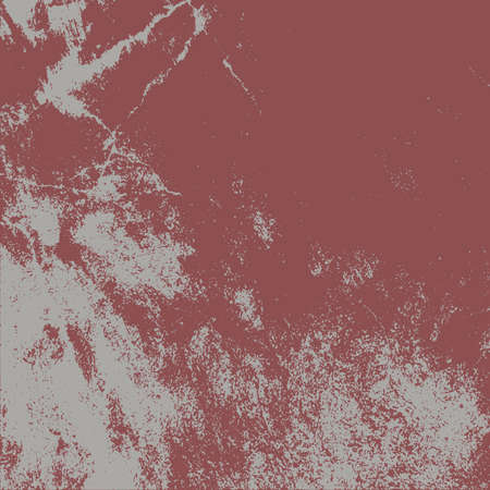 Empty expressive Distressed Background. Grunge Red Square Texture For your Design. EPs10 vector.