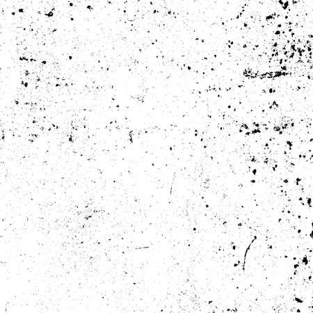 Angustia textura urbana usada. Fondo sucio áspero de Grunge. Cubierta de pintura negra cepillada. Superposición de plantilla desordenada granulada envejecida. Renovar el telón de fondo rayado de la pared. Elemento de diseño de envejecimiento vacío. Vector EPS10