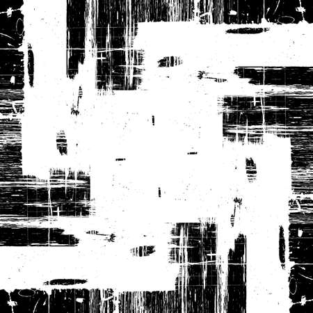 Grunge old grid mesh paint black cover template. Web cobweb spiderweb net distressed overlay texture. Striped tabby grainy backdrop. Messy dirty surface creative element. EPS10 vector.