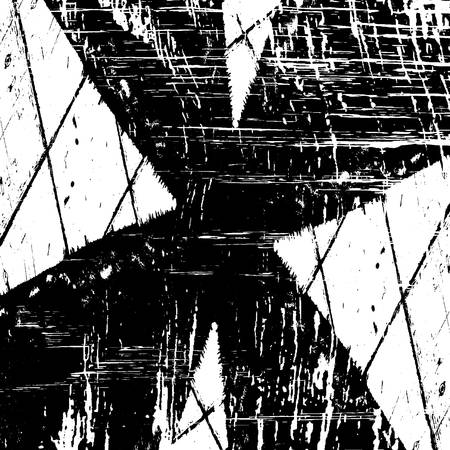 Grunge old grid mesh black cover template. Web cobweb spiderweb net distressed overlay texture paint . Striped tabby grainy backdrop. Messy dirty surface creative element. EPS10 vector.
