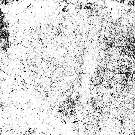 Angustia textura urbana usada. Fondo sucio áspero de Grunge. Cubierta de pintura negra cepillada. Superposición de plantilla desordenada granulada envejecida. Renovar el fondo rayado de la pared. Elemento de diseño de envejecimiento vacío. Eps10 vector.