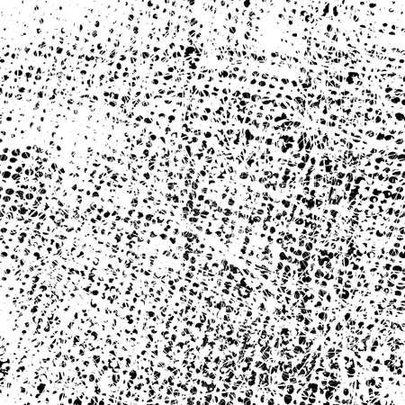 Distress grunge halftone overlay texture. Dirty noise aging pop art design template. EPS10 vector. Ilustração