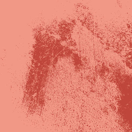Grunge Red Texture For your Design. Empty Distressed Background. EPs10 vector. Illustration