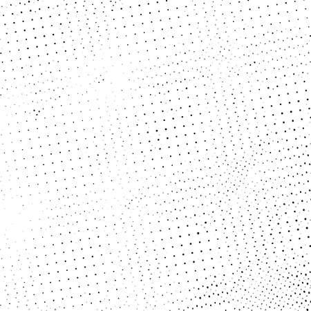 Distress grunge halftone overlay texture. Dirty noise aging design template. Pop art artistic element. EPS10 vector
