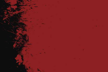 Grunge Red Texture For your Design. Empty expressive Distressed Background. EPs10 vector. Ilustração