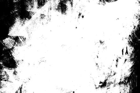 Distress dirty overlay background. Grunge mess blot background. Burnt trace cover design element. EPS10 vector. Stock Illustratie