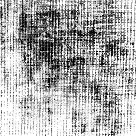 Distress overlay thread texture. Grainy canvas sahbby background. EPS10 vector.