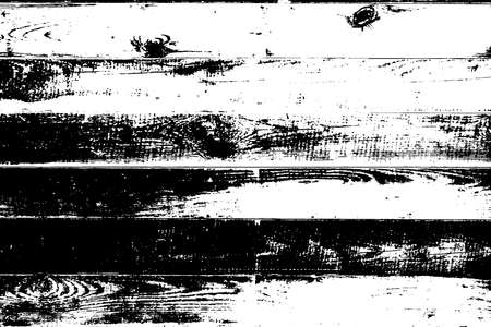 Distress Dry Wooden Planks Overlay Texture For Your Design. Rural grunge artistic template. EPS10 vector. Illustration