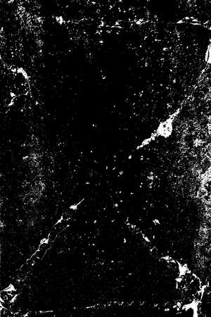 Brushed black paint cover. Distress urban used texture. Grunge rough dirty background. Overlay aged grainy messy template. Renovate wall frame grimy backdrop. Empty aging design element. EPS10 vector.