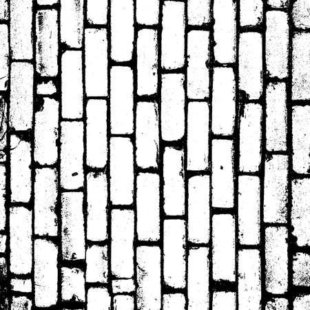 Distress brick wall masonry overlay texture. Grunge urban dirty background.