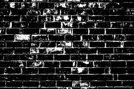 Distress brick wall masonry overlay texture. Grunge urban dirty background.