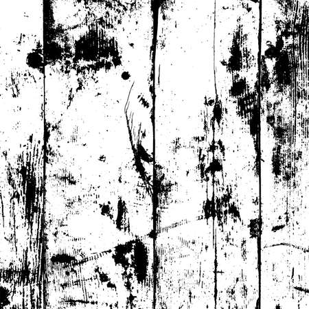 Wooden board grainy overlay texture. Timber used grunge background. Weathered rustic rural cover. Empty aged template. Lumber Element for aging any of your image. EPS10 vector.
